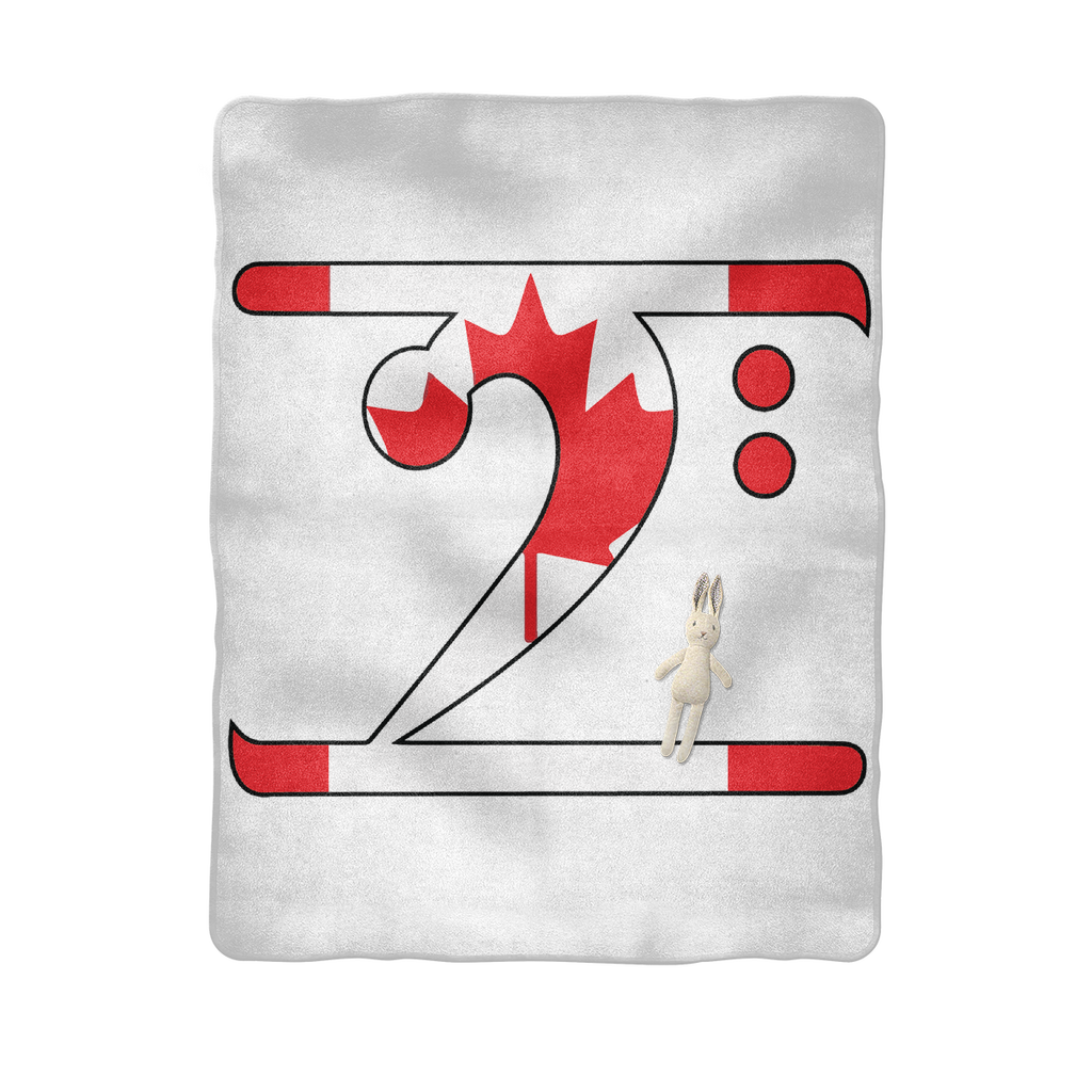 CANADIAN LBW Sublimation Baby Blanket - Lathon Bass Wear