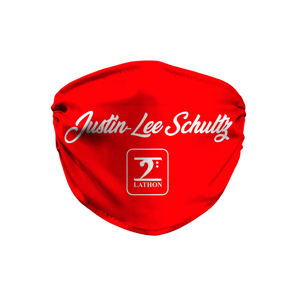 JUSTIN LEE SCHULTZ Face Mask