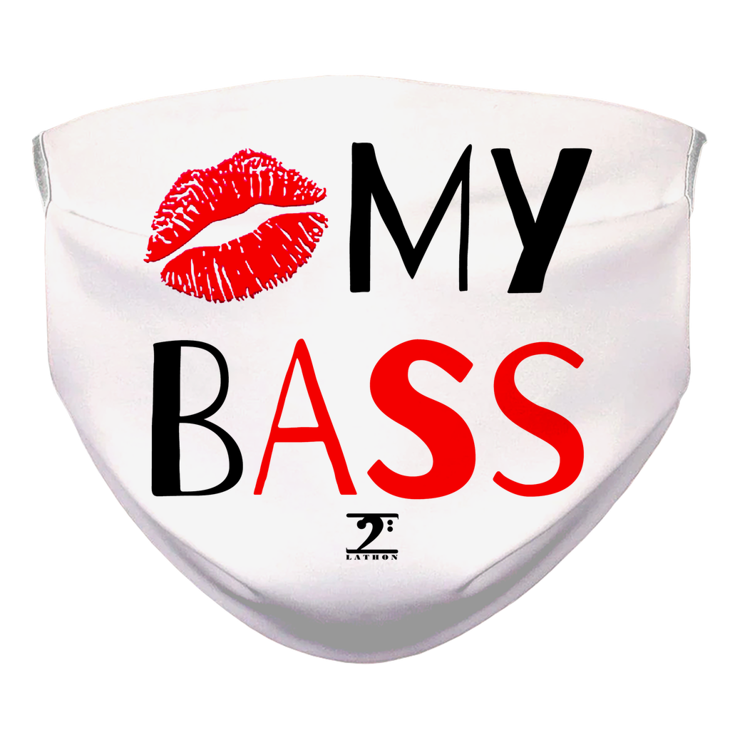 KISS MY BASS Face Mask - Lathon Bass Wear