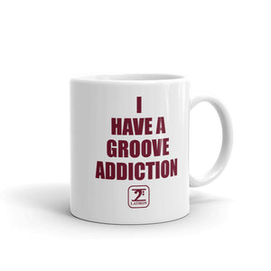 I HAVE GROOVE ADDICTION - MAROON Mug - Lathon Bass Wear