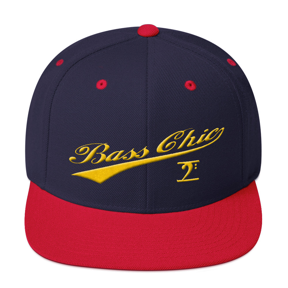 Bass Chic with Tail Snapback Hat - Lathon Bass Wear