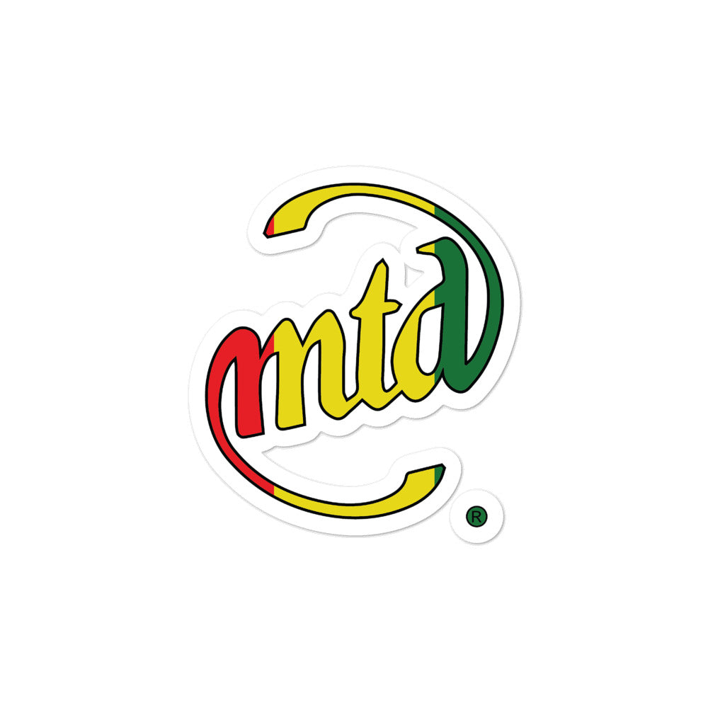 MTD RASTA Bubble-free stickers