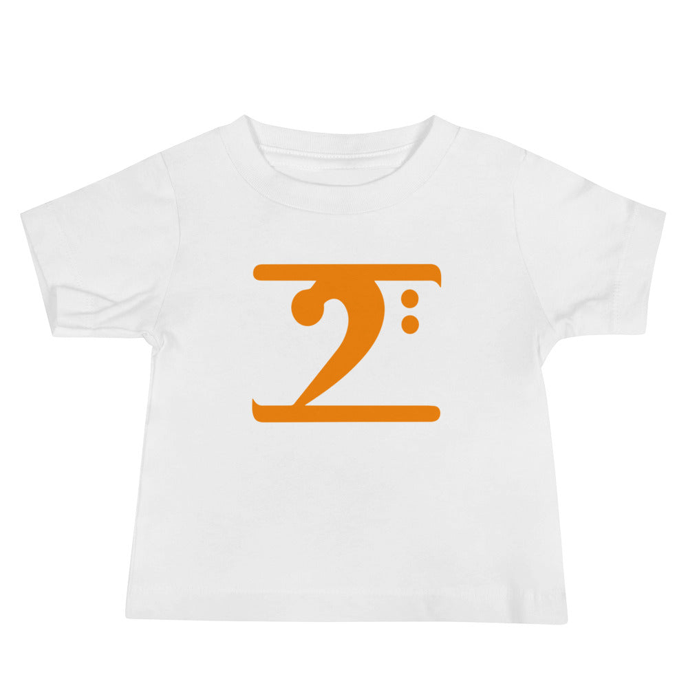 ORANGE LOGO Baby Jersey Short Sleeve Tee - Lathon Bass Wear