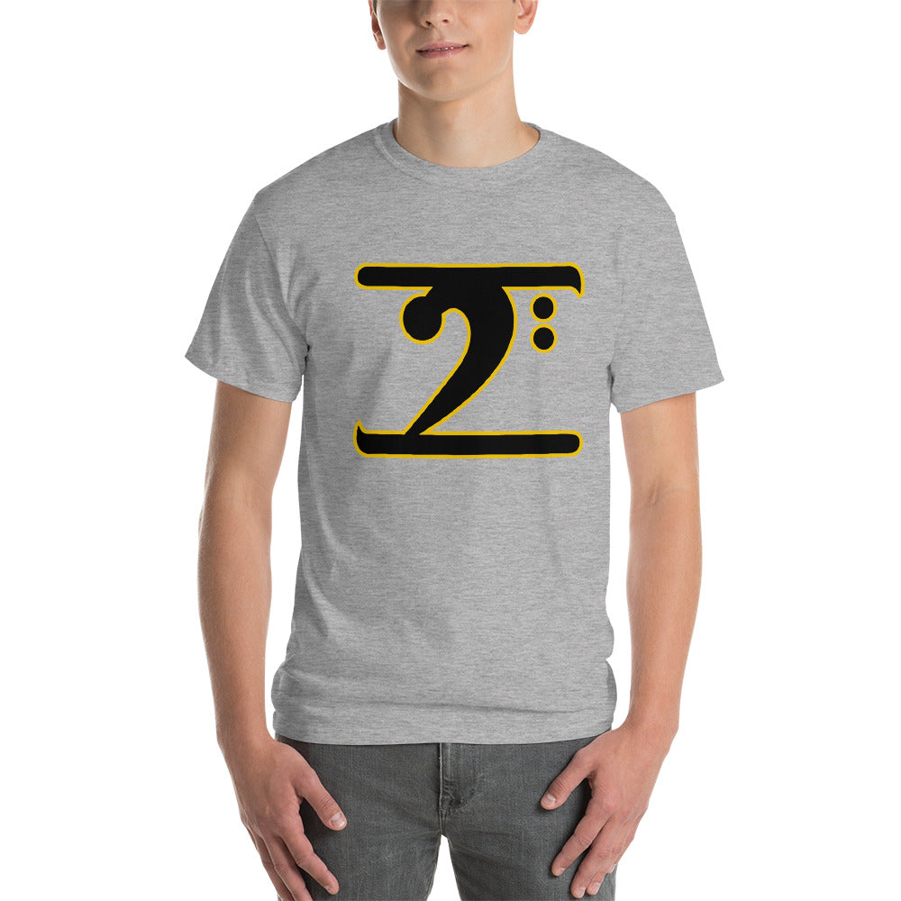 ICONIC LOGO - BLACK/GOLD Short-Sleeve T-Shirt
