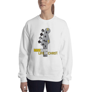 BASS YOUR LIFE ON CHRIST Sweatshirt - Lathon Bass Wear