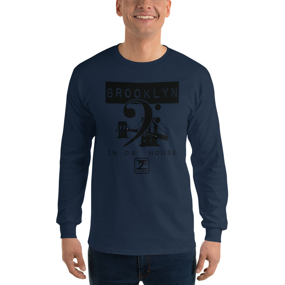 BROOKLYN IN THE HOUSE Long Sleeve T-Shirt - Lathon Bass Wear