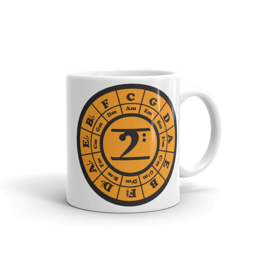 CIRCLE OF 5TH Mug - Lathon Bass Wear