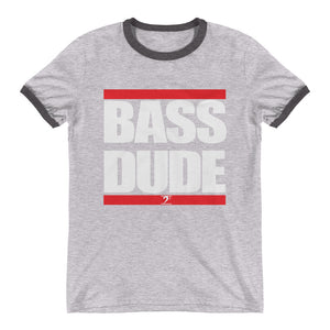 BASS DUDE Ringer T-Shirt - Lathon Bass Wear