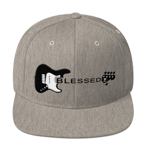 Blessed Snapback Hat - Lathon Bass Wear