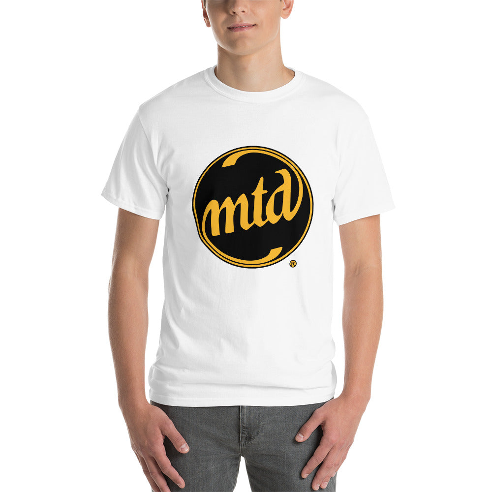 MTD BLACK & GOLD LOGO Short Sleeve T-Shirt