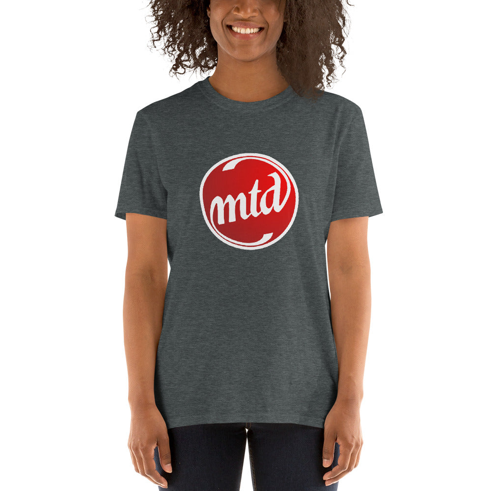 MTD FILLED LOGO Short-Sleeve Unisex T-Shirt