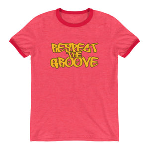 RESPECT THE GROOVE Ringer T-Shirt