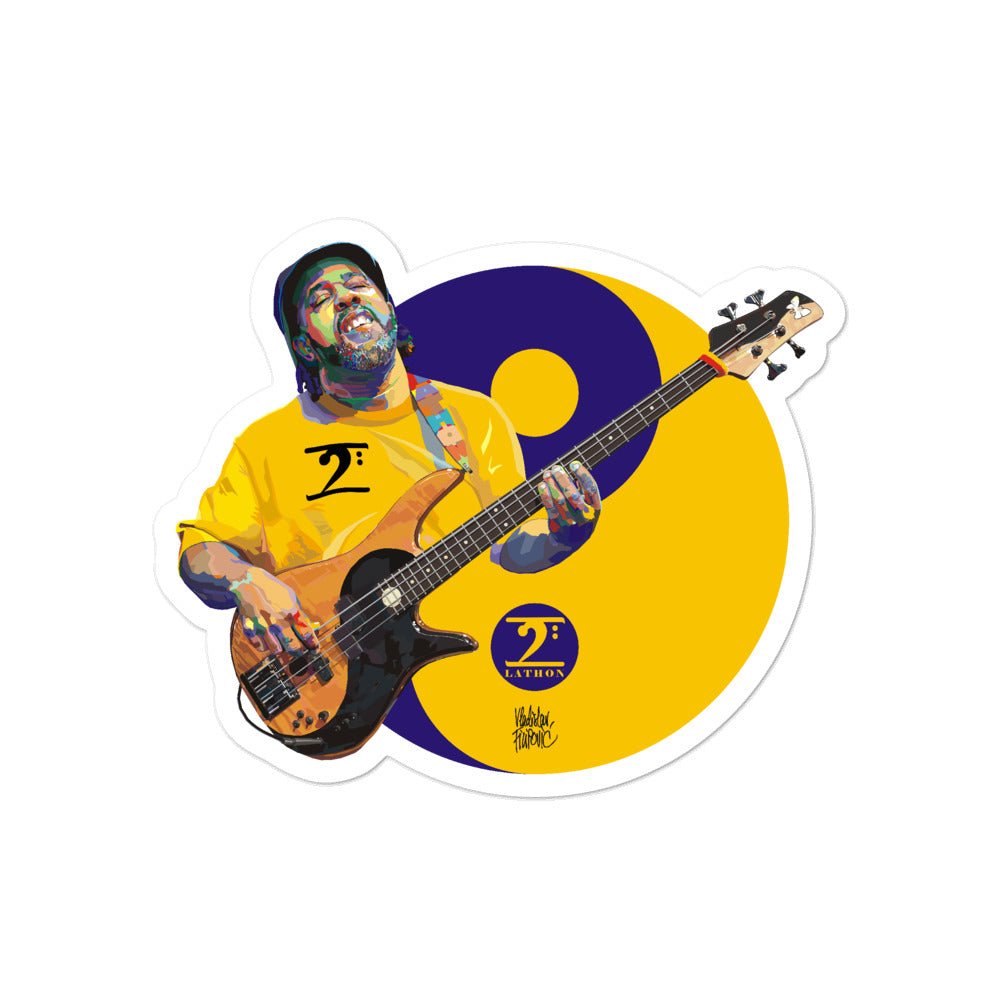 VICTOR WOOTEN - LEGENDS Bubble-free stickers