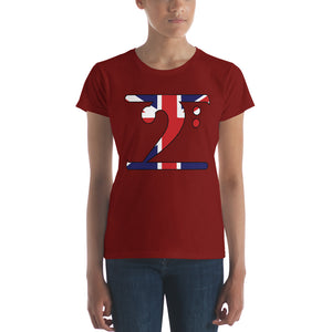 UK LBW Women's short sleeve t-shirt