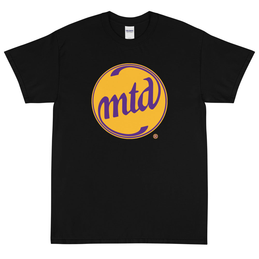 MTD GOLD & PURPLE LOGO Short Sleeve T-Shirt