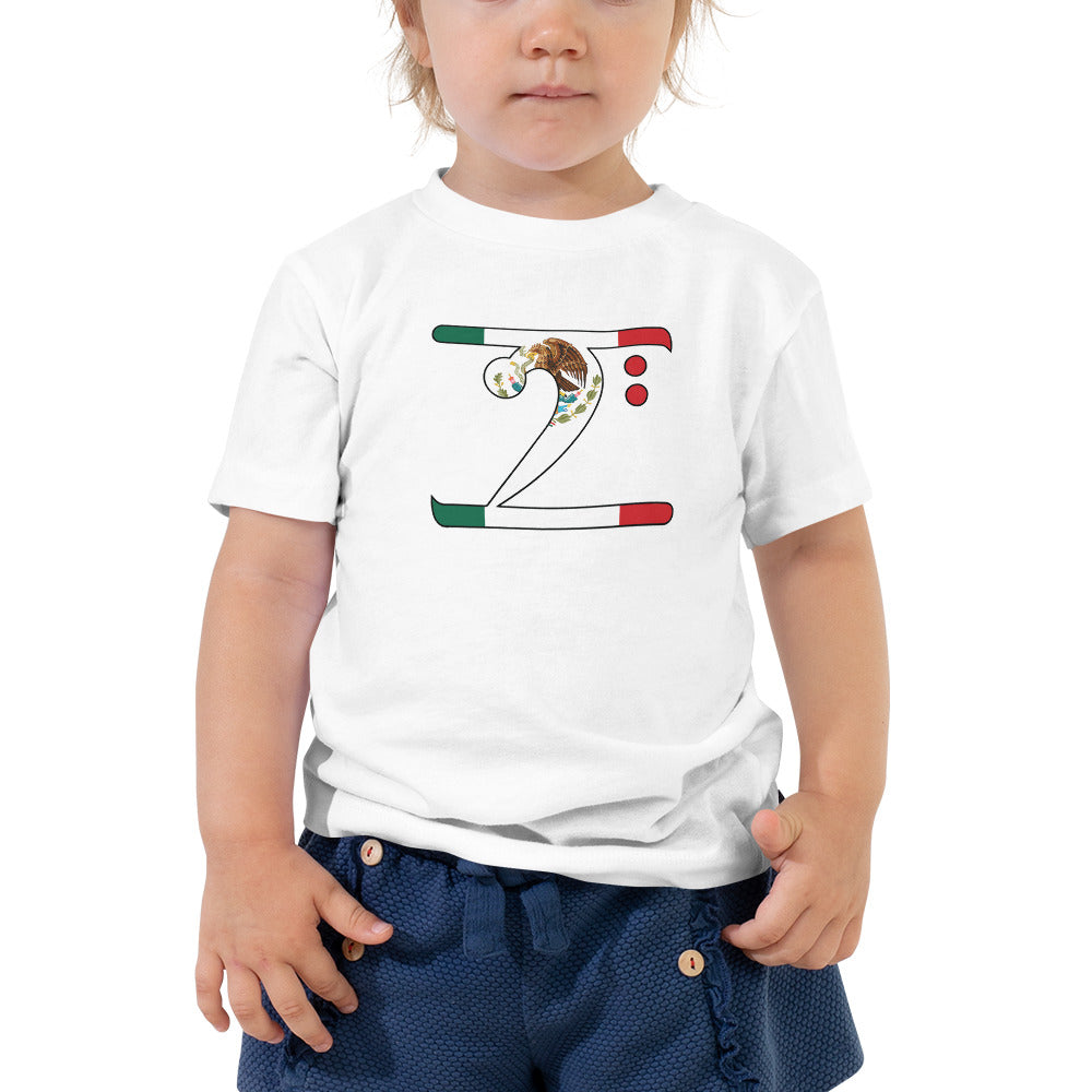 MEXICO LBW Toddler Short Sleeve Tee