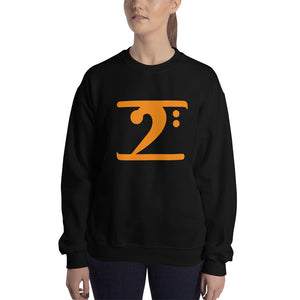 ORANGE LOGO Sweatshirt - Lathon Bass Wear