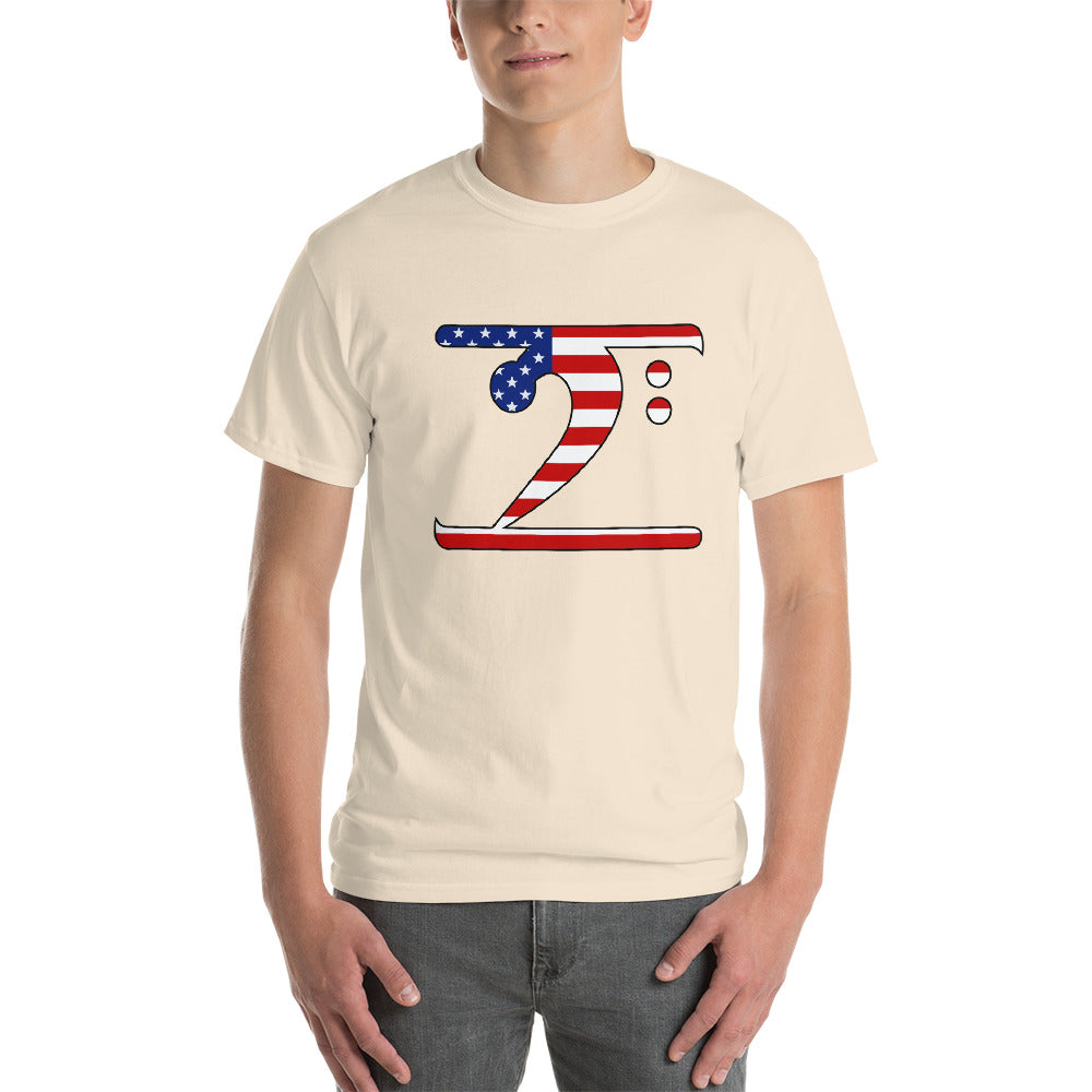USA LBW Short-Sleeve T-Shirt - Lathon Bass Wear