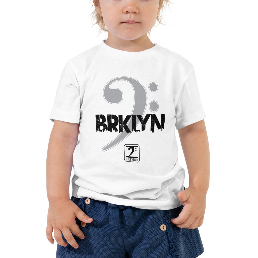 BROOKLYN CLEF Toddler Short Sleeve Tee - Lathon Bass Wear