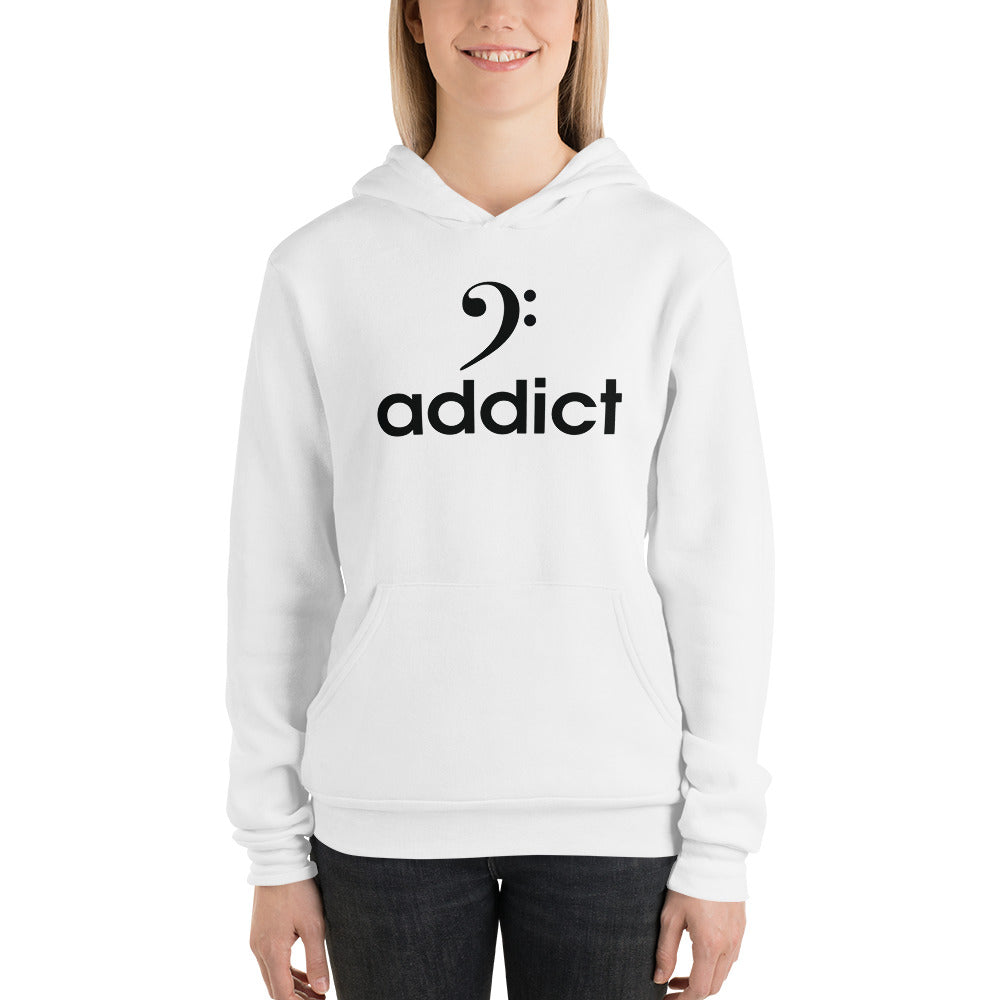 BASS ADDICT Unisex hoodie - Lathon Bass Wear