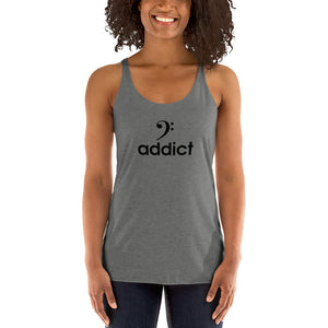 BASS ADDICT Women's Racerback Tank - Lathon Bass Wear