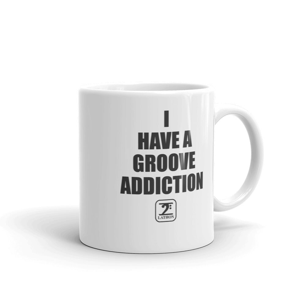 I HAVE GROOVE ADDICTION Mug - Lathon Bass Wear