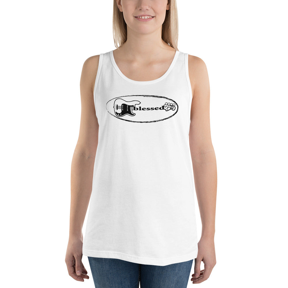 BLESSED Unisex Tank Top - Lathon Bass Wear