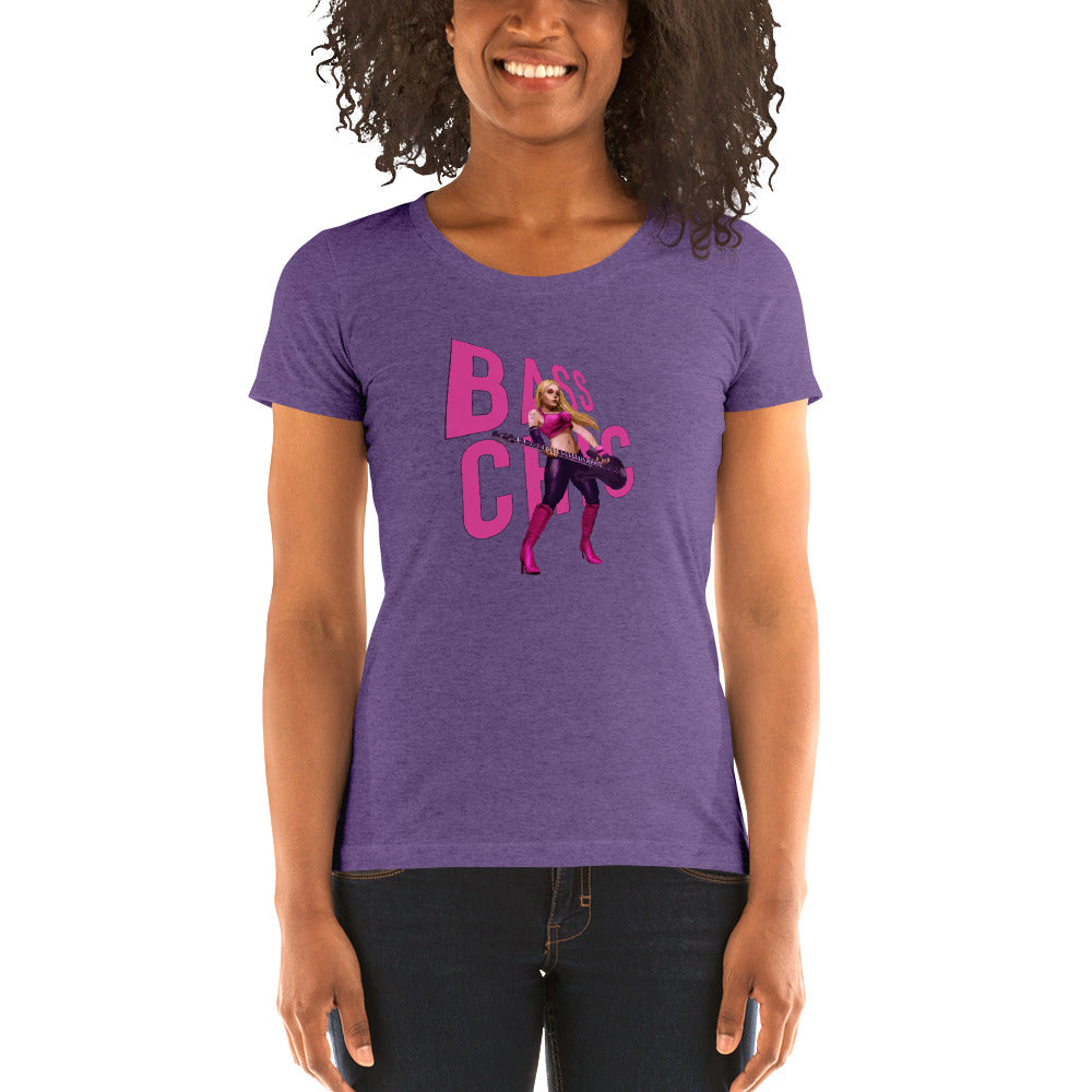 BASS CHIC- SYNDICATE 2 Ladies' short sleeve t-shirt