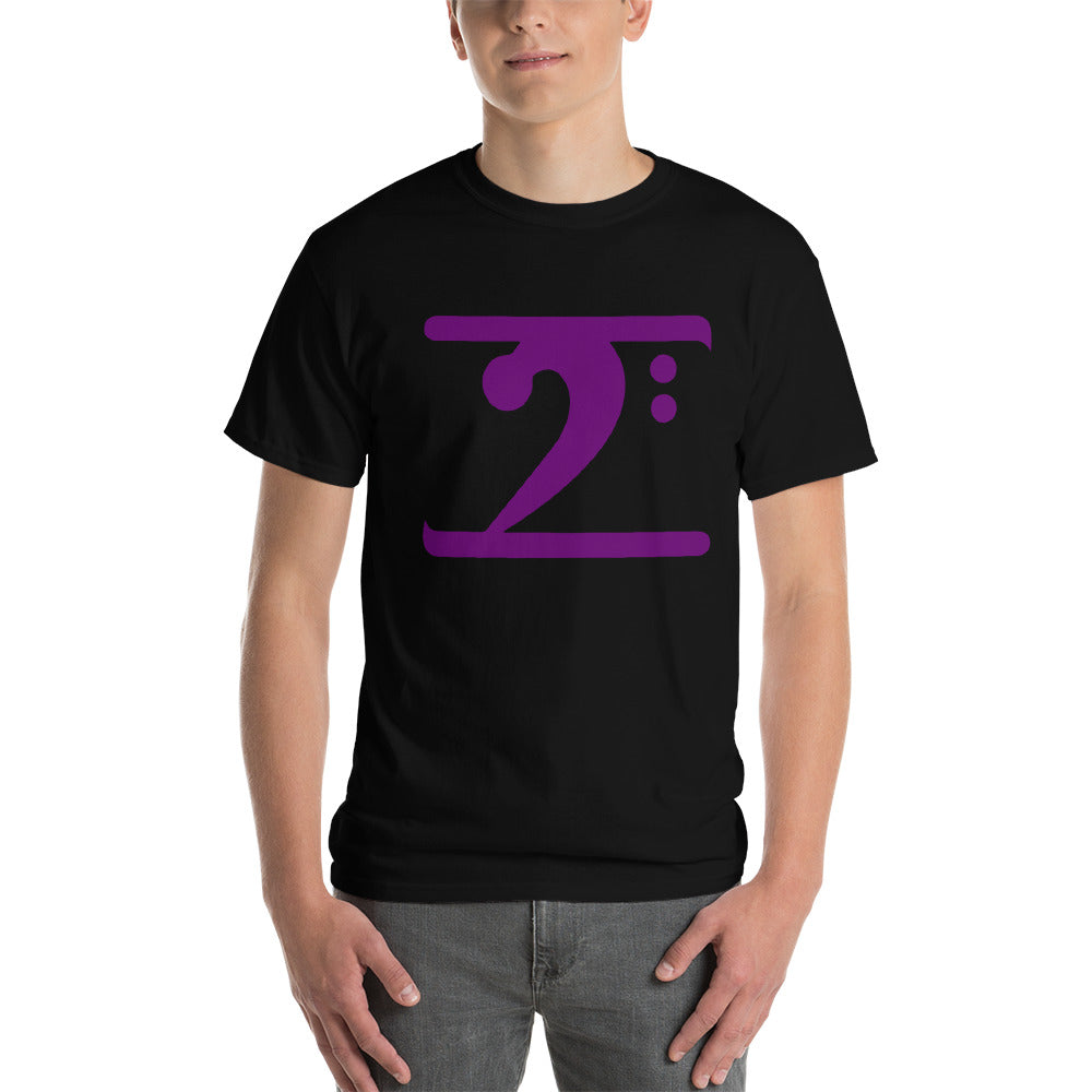 PURPLE LOGO Short-Sleeve T-Shirt - Lathon Bass Wear