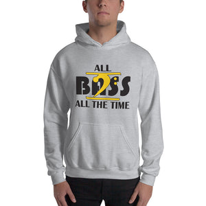 ALL BASS ALL THE TIME Hooded - Lathon Bass Wear
