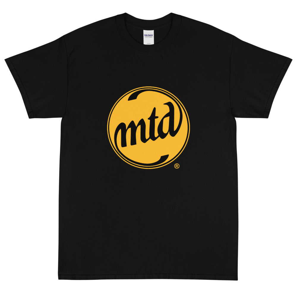 MTD GOLD & BLACK LOGO Short Sleeve T-Shirt