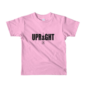 UPRIGHT Short sleeve kids t-shirt - Lathon Bass Wear