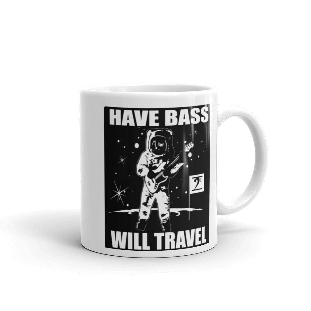 HAVE BASS WILL TRAVEL Mug - Lathon Bass Wear