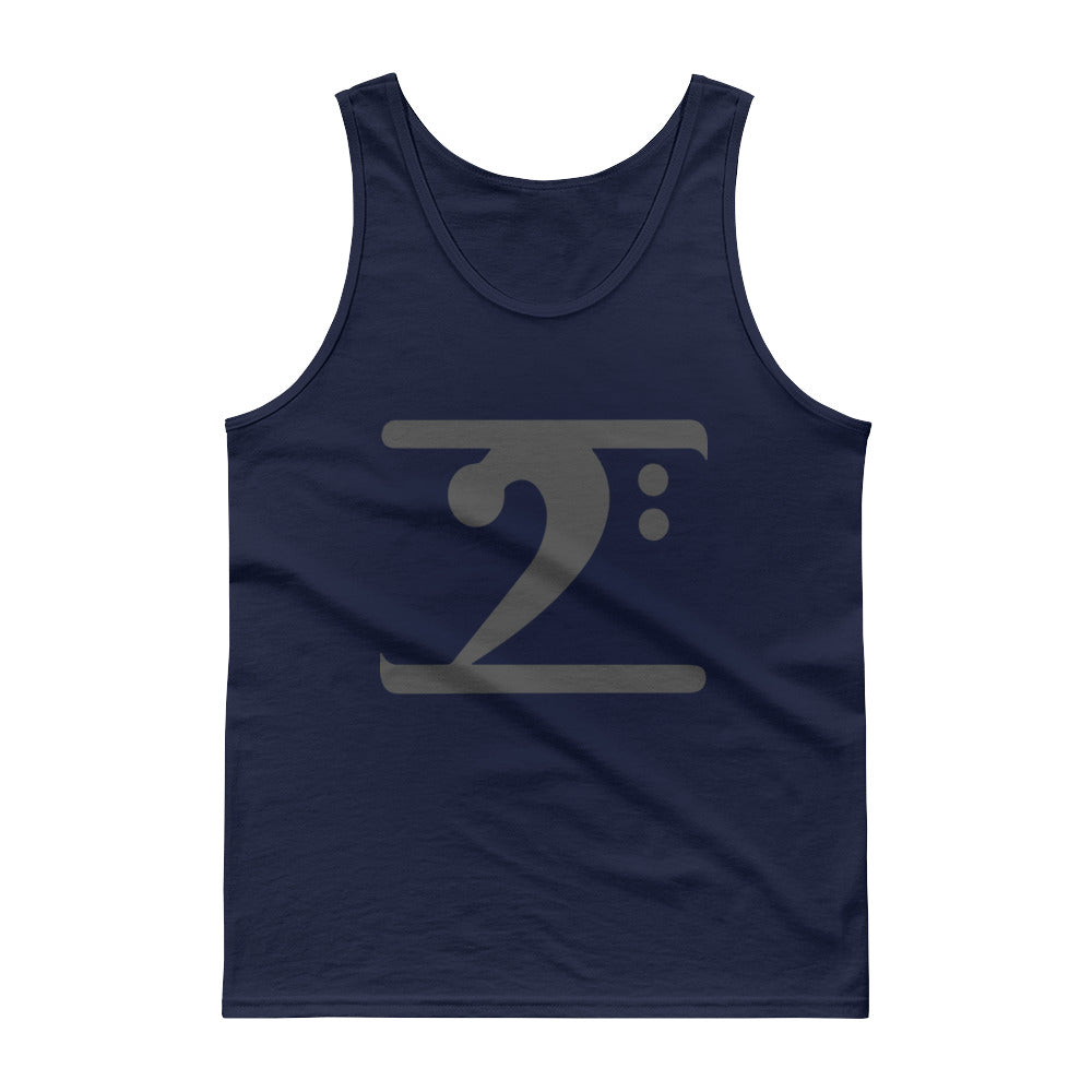 DARK GREY LOGO Tank top - Lathon Bass Wear