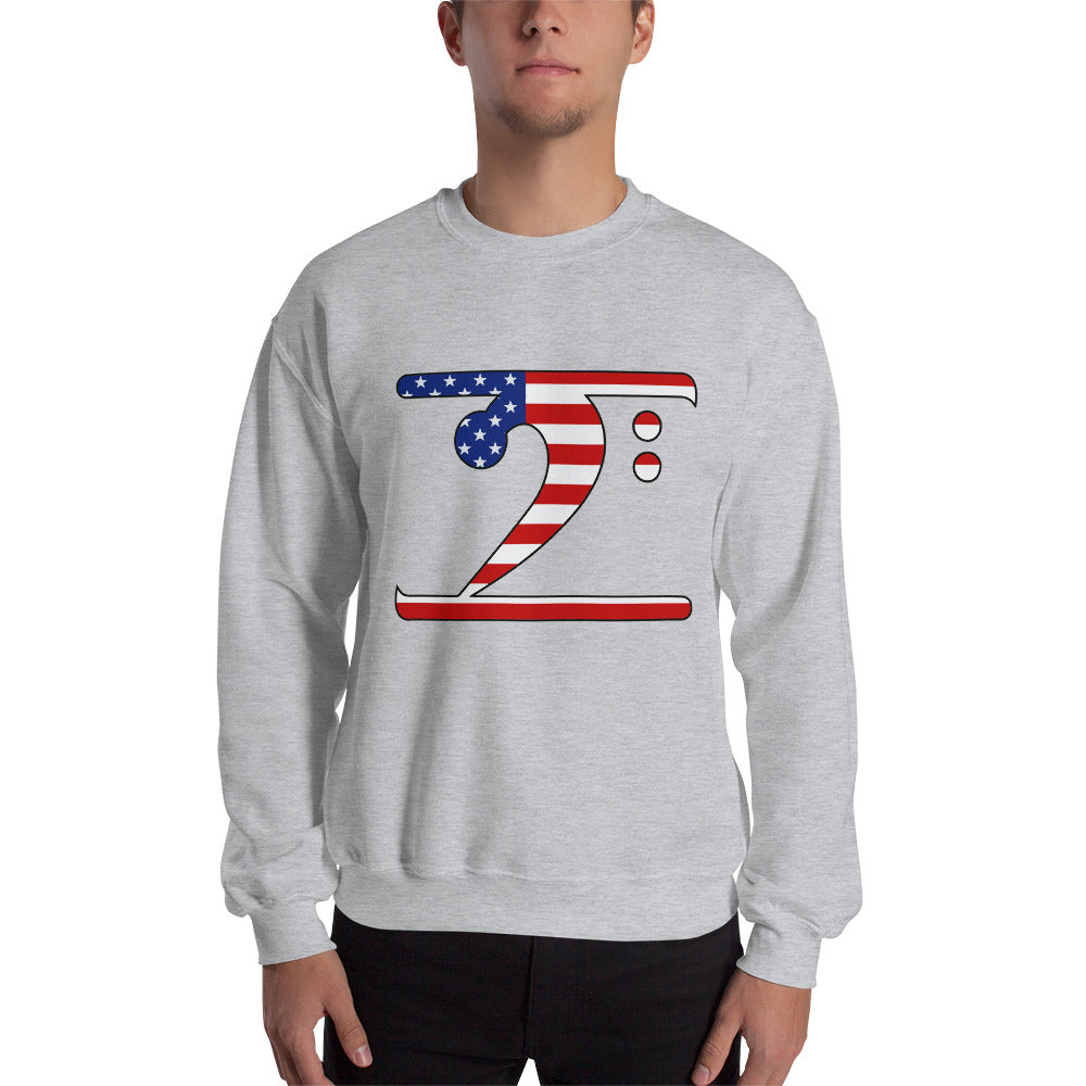 USA LBW Sweatshirt - Lathon Bass Wear