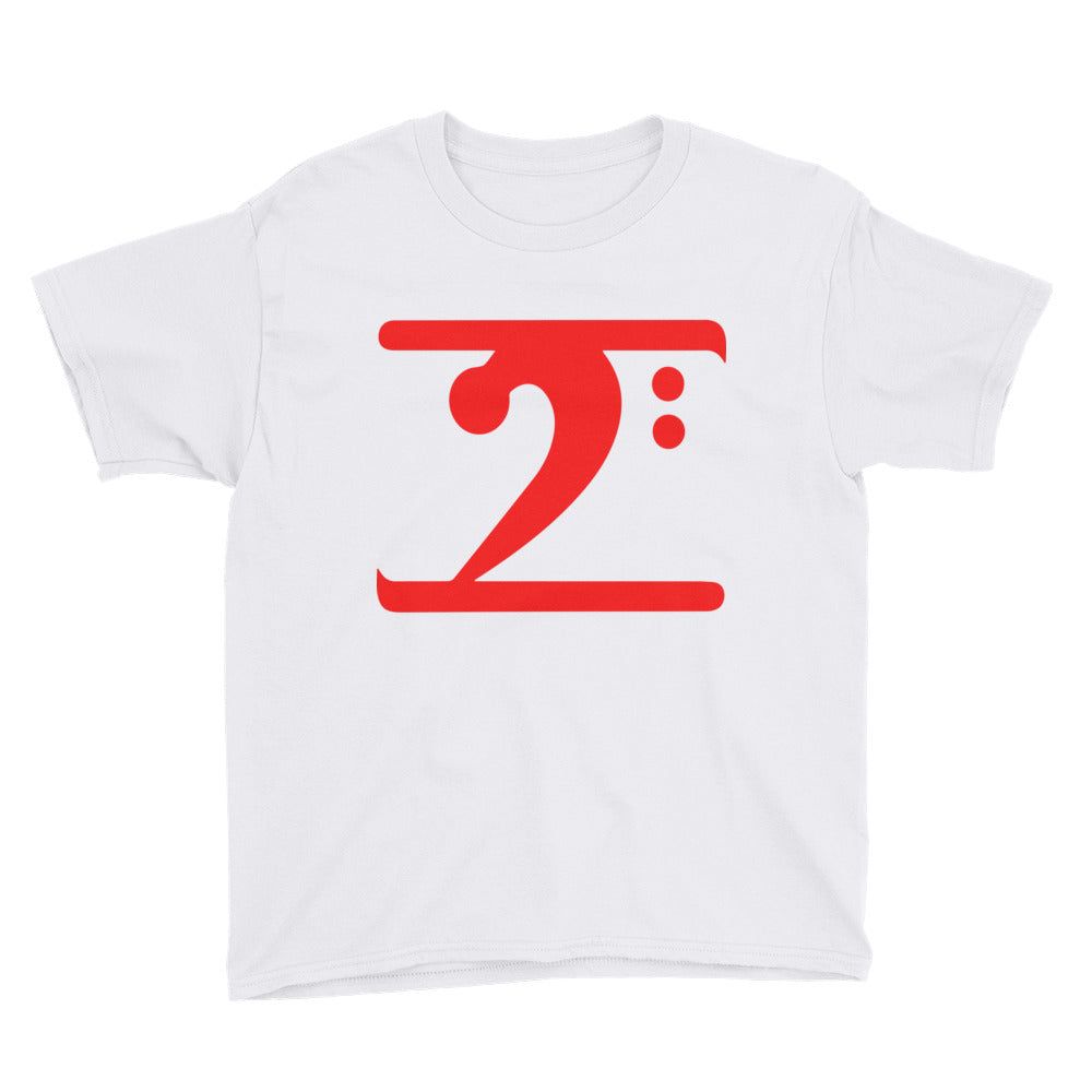 RED LOGO Youth Short Sleeve T-Shirt