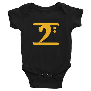 GOLD LOGO Infant Bodysuit - Lathon Bass Wear