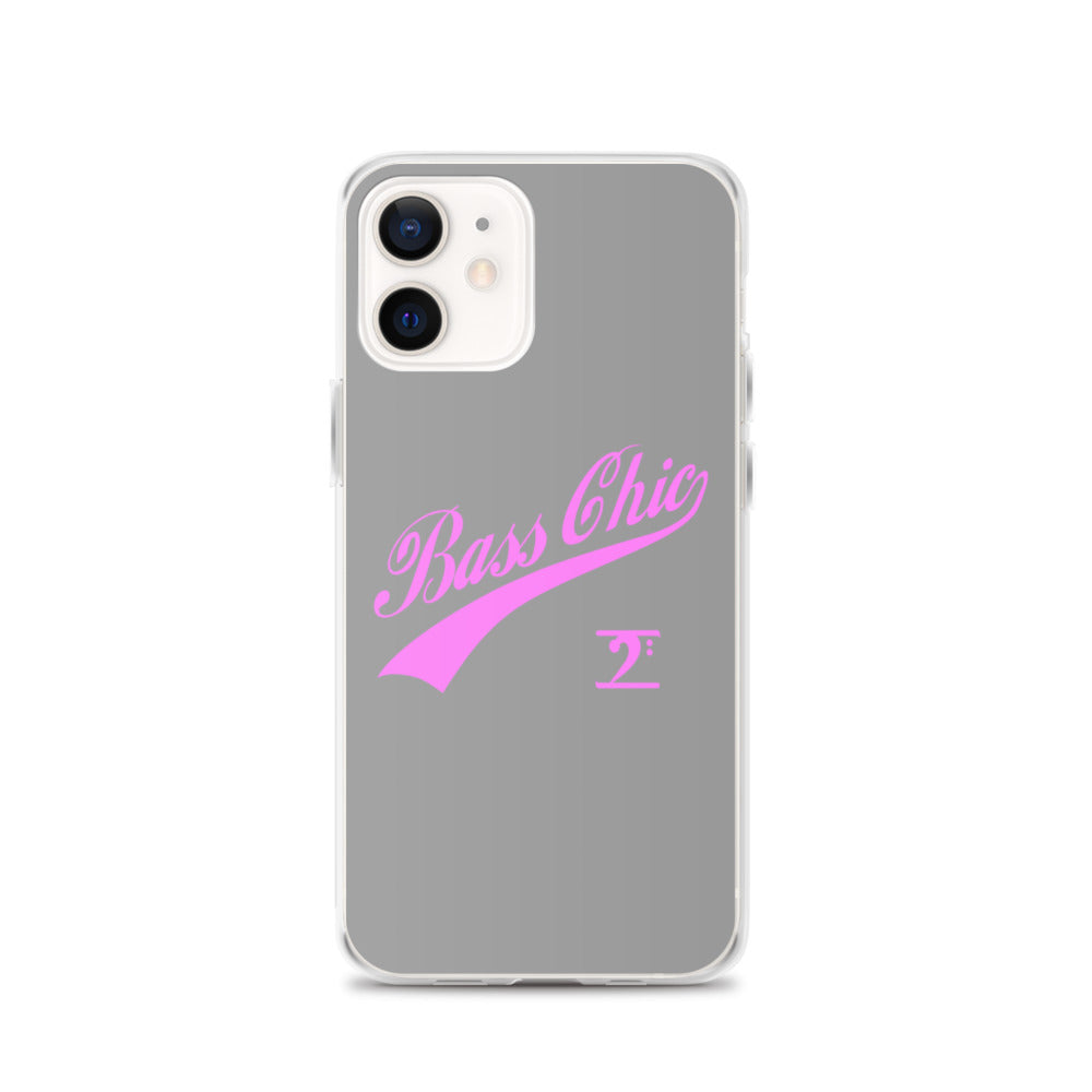Bass Chic with Tail iPhone Case