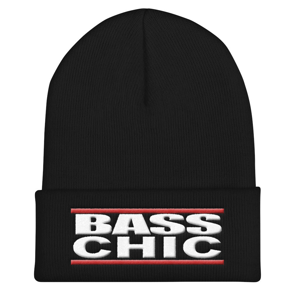Bass Chic Cuffed Beanie - Lathon Bass Wear