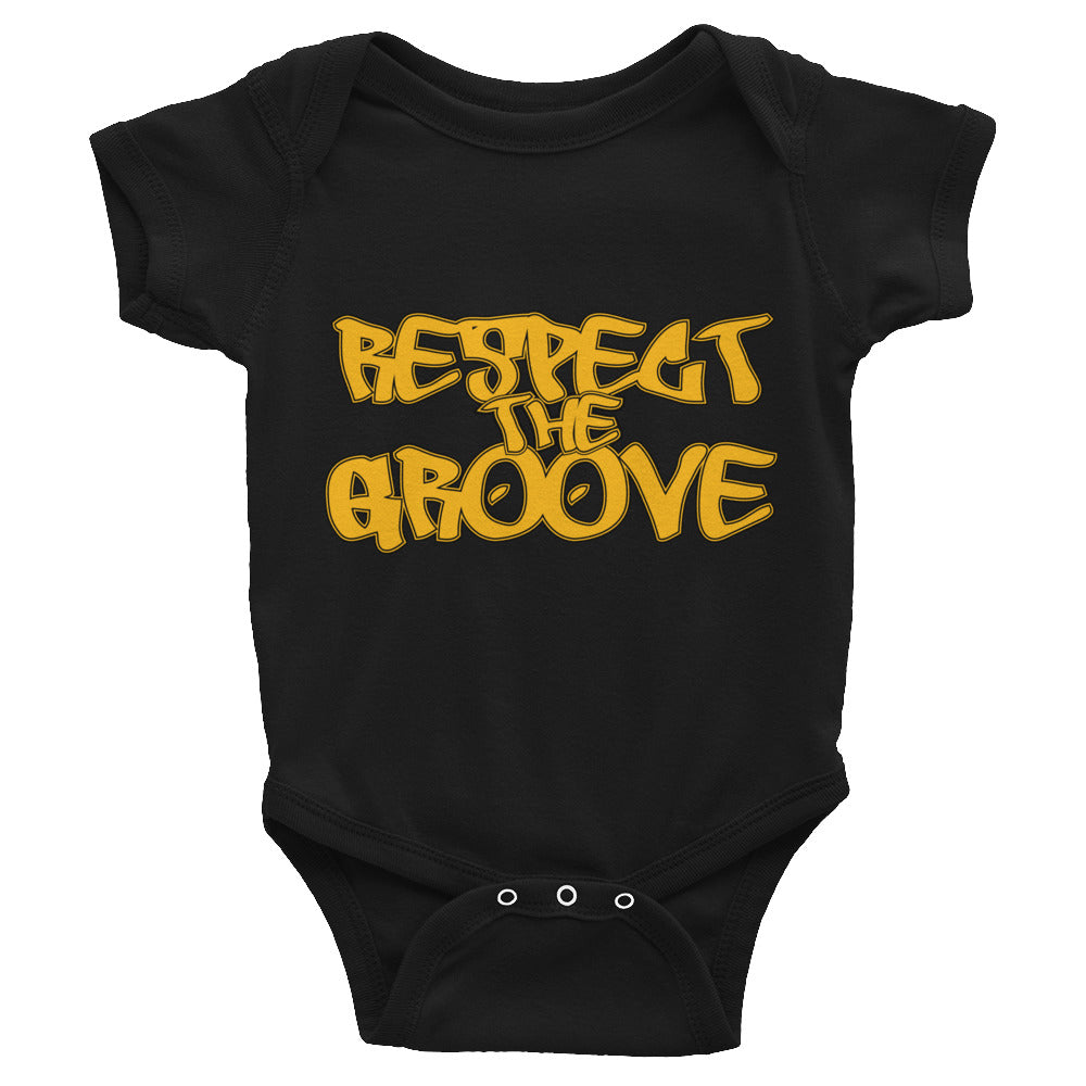 RESPECT THE GROOVE Infant Bodysuit - Lathon Bass Wear