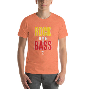 ROCK THE BASS Short-Sleeve Unisex T-Shirt - Lathon Bass Wear