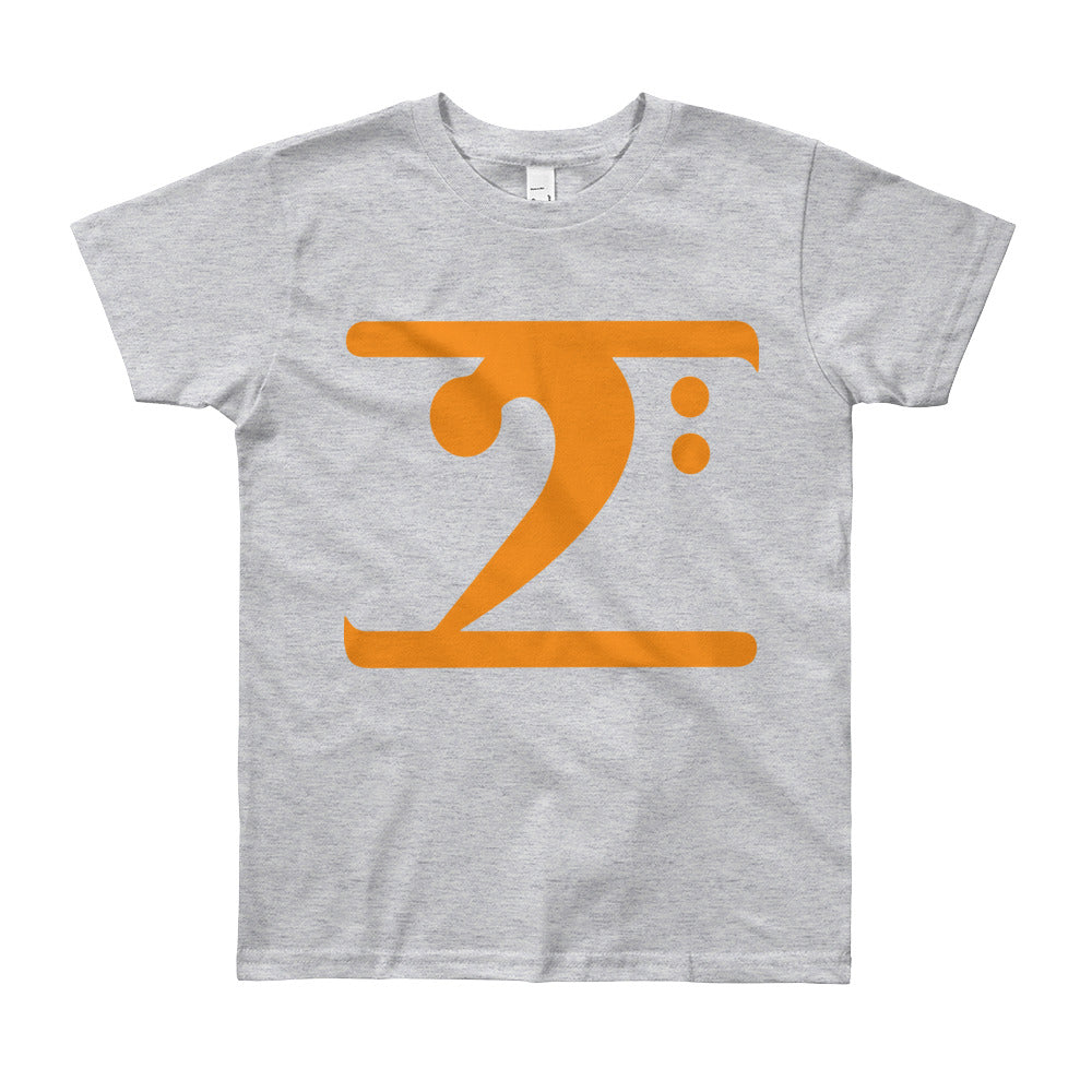 ORANGE LOGO Youth Short Sleeve T-Shirt