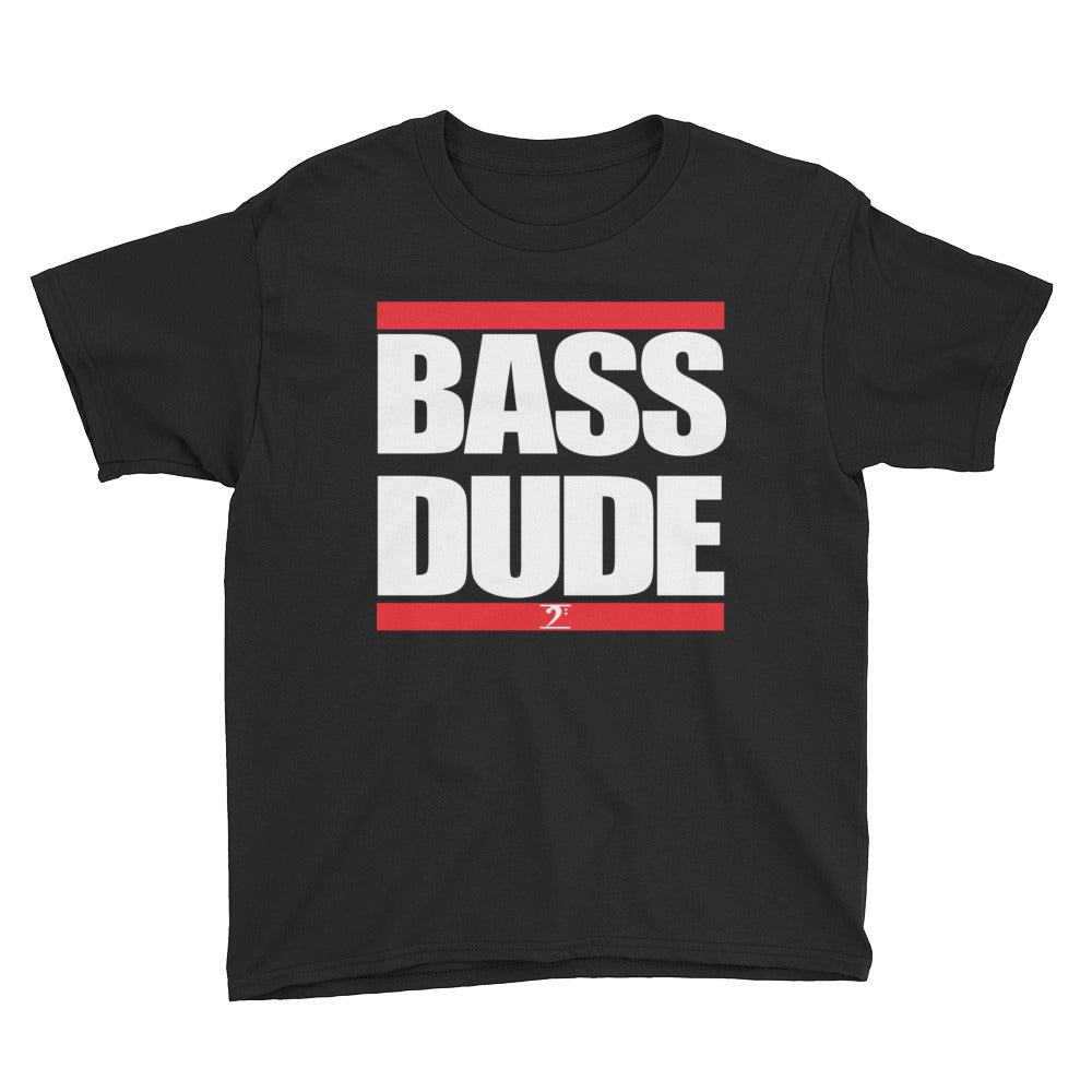 BASS DUDE Youth Short Sleeve T-Shirt - Lathon Bass Wear