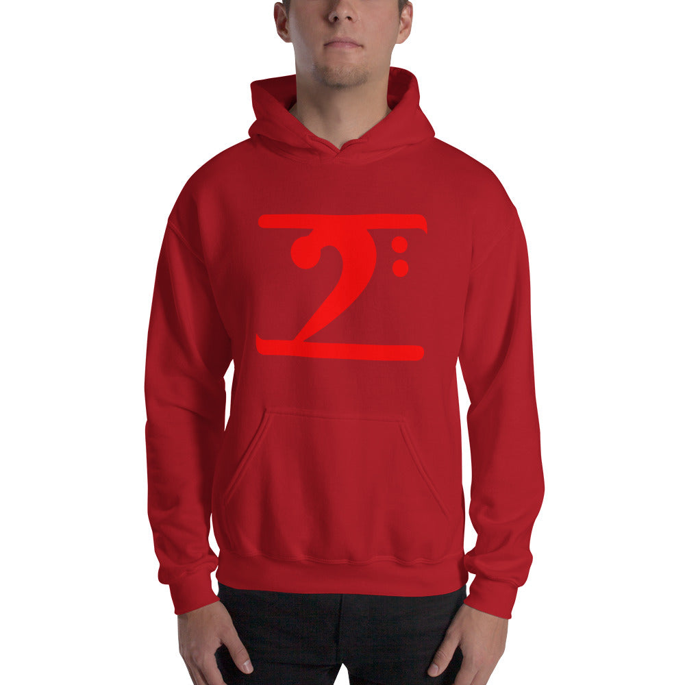 RED LOGO Hooded - Lathon Bass Wear