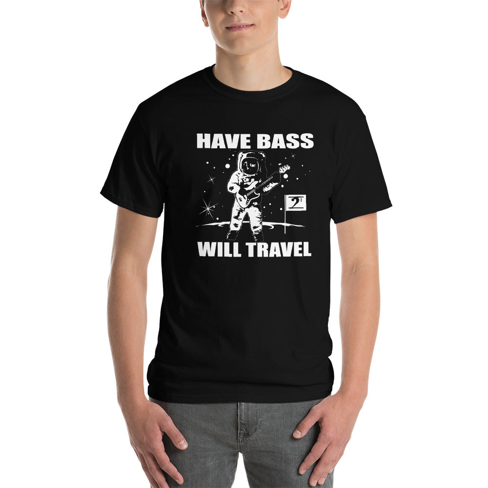 HAVE BASS WILL TRAVEL Short-Sleeve T-Shirt - Lathon Bass Wear