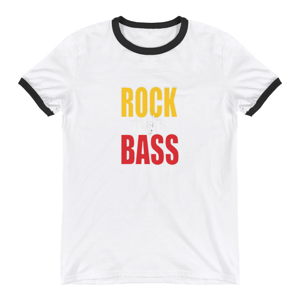 ROCK THE BASS Ringer T-Shirt - Lathon Bass Wear