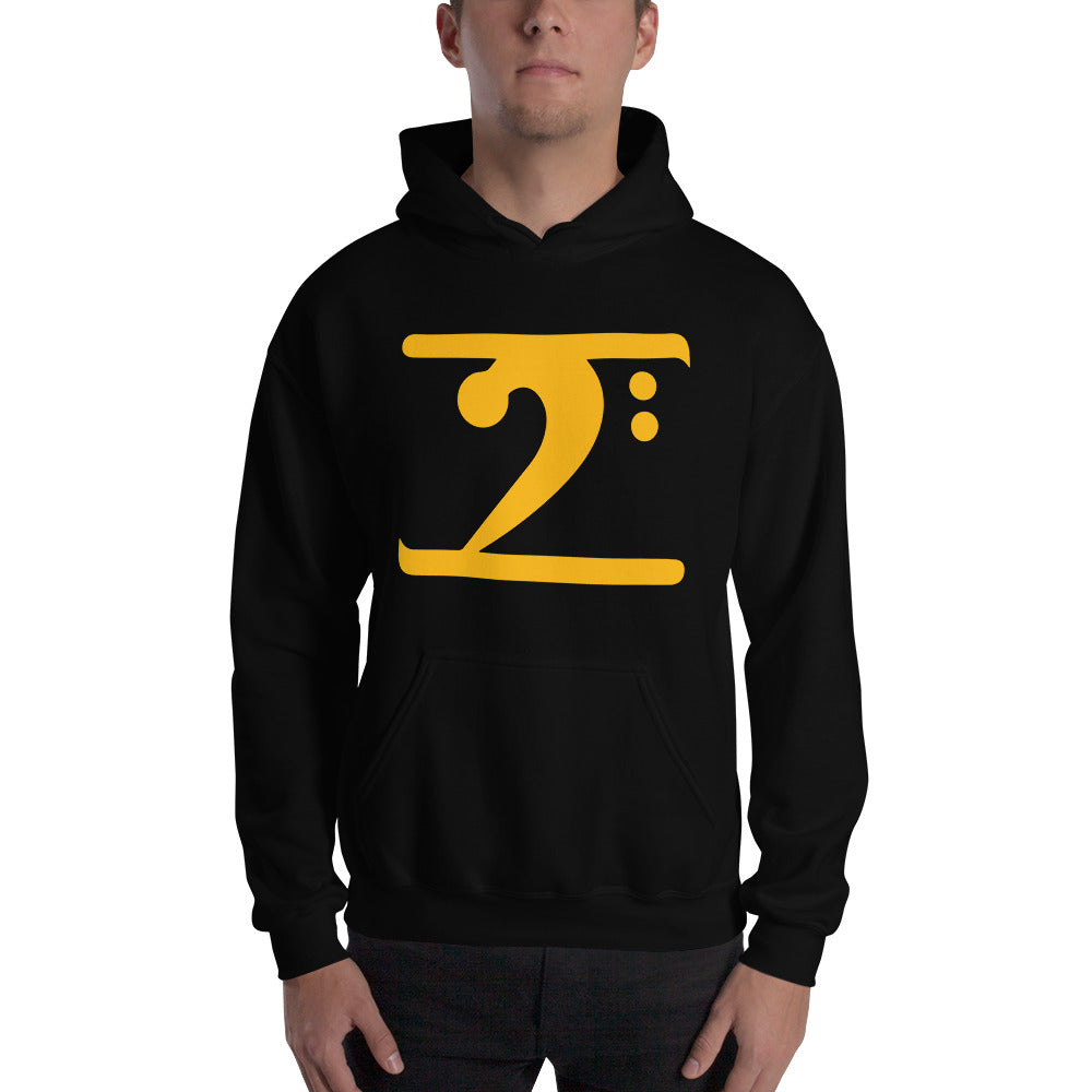 GOLD LOGO Hooded - Lathon Bass Wear