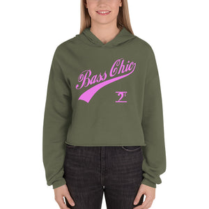 BASS CHIC w/TAIL Crop Hoodie - Lathon Bass Wear