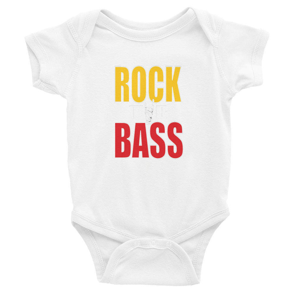 ROCK THE BASS Infant Bodysuit - Lathon Bass Wear