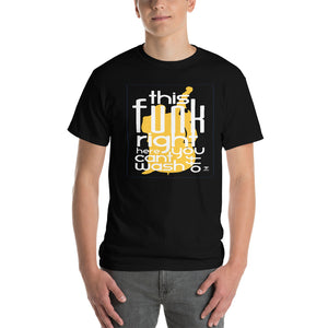 THIS FUNK RIGHT HERE - UPRIGHT Short-Sleeve T-Shirt - Lathon Bass Wear